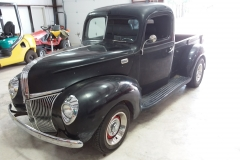 1952 Ford F100 Before All-in-One Paint Correction